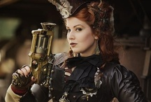 Steampunk Fashion / Steampunk is a sub-genre of science fiction, alternate history, and speculative fiction. Specifically, it involves an era or world where steam power is still widely used—usually the 19th century and often Victorian era Britain—that incorporates prominent elements of either science fiction or fantasy. Works of steampunk often feature anachronistic technology or futuristic innovations as Victorians may have envisioned them; in other words, based on a Victorian perspective on fashion, culture, architectural style, art, etc. This technology may include such fictional machines as those found in the works of H. G. Wells and Jules Verne or real technologies like the computer but developed earlier in an alternate history.