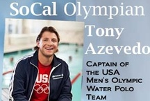 Tony Azevedo's Pins / Local Olympian Tony Azevedo is a professional water polo player and captain of USA Men's Olympic water polo team. Azevedo is a Standford graduate.  / by NBC LA