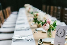 WEDDING/flowers+table / by Lucia of theLittleGreenFrog
