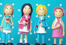 Fondant people & figures tutorials / by Aliha Palmer Talton