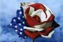 ✯ Red, White & Blue Flowers ✯ / IN HONOR OF OUR GREAT COUNTRY ~ AMERICA ~ And I'm proud to be an American, where at least I know I'm free. And I wont forget the men who died, who gave that right to me.  And I gladly stand up, next to you and defend her still today. 'Cause there ain't no doubt I love this land, God bless the USA. / by Earth Angel