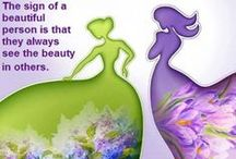 Green & Purple / In sweet remembrance of a dear friend of mine who loved purple and I love green. ♥♥ / by Earth Angel