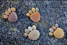 Rocks - Stepping Stones - Yard Stuff / by S'he B'itz