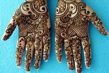 Mehndi Ideas / Designs to be inspired by....  / by The Olive Tree Soap Company