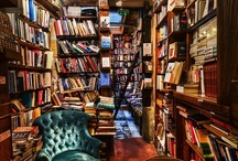 Libraries and Book Stores I want to live in / by Stephanie Cornett