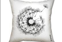 pillows / cushions / poufs / by M. Soza