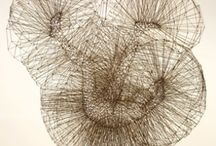 Sculptures and installations / by M. Soza