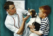 Love Norman Rockwell  ♥ / Great Illustrator / by Midge Hatfield