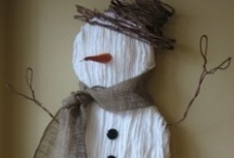 I love snowmen / by Kate Bowyer