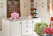 Lovely Craft Room Ideas / by Zoom Yummy