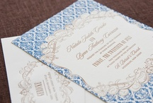 Fabric Inspired Invitation LOVE / by Abbey Malcolm Letterpress + Design