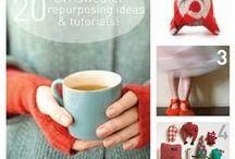 Creating: repurposed materials / by Grace