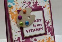 Doing full-well cards ♥ / Ideas y Tips para elaborar tarjetas con amor y llenas de buenos deseos  / by Marta Maria Allen