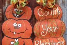 Halloween ideas/treats/ Fall ideas / by Phyllis Hopper Coleman