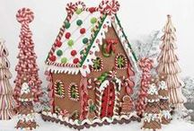 Gingerbread Houses / by Mona's Cakery Decorating Classes