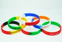 Silicone Wristbands / Silicone Rubber Wristbands / by Harry Wong