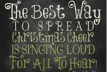 The best way to spread Christmas cheer is singing loud for all to hear!! / It's never too early for Christmas carols!  (And I know there are probably doubles ~sometimes even triples~ of most of these songs, but I was afraid to miss any! I will definitely get around to cleaning this up before Christmas!!) / by Jen S