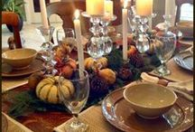 Holiday Ideas: Pin Your Thanksgiving Ideas / Pin your favorite Thanksgiving ideas here. Who knows - I might get crafty and do one of them! LOL / by Billie Hillier