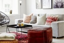 YUMMY ROOMS {styling. decor.} / The Home. Styling.  / by Cristina Navarro