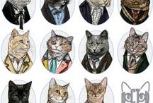 Cat Art We Heart / Cats as inspiration. / by Dogster & Catster
