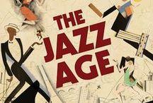 B sharp in a Jazz age flat / Art Deco in all it's cream & bronze beauty / by Dianne Morstad
