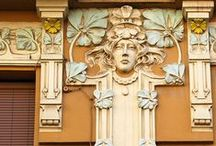 Art Nouveau Architecture / by Dianne Morstad