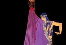 Art Deco in Purple / by Dianne Morstad