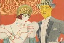 Art Deco in Orange / by Dianne Morstad