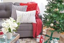 Holiday Living Room Inspiration / by hayneedle.com