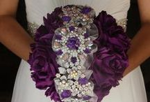 Wedding Brooch & Floral Bouqets / by A Touch Of Class An Evening Of Elegance LLC Wedding & Events