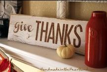 Halloween/Fall/Thanksgiving / by Stephanie Dow