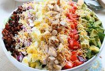 Salads / by Cassie Belcher