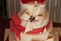 Beautiful Wedding Cakes On Your Wedding Day / by A Touch Of Class An Evening Of Elegance LLC Wedding & Events