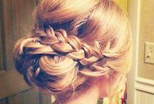 Bridal Party Hair / by Megan Lauletti