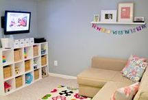Logan's Playroom/Livingroom / by Stephanie Dow