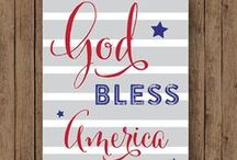 ☆☆America the Beautiful☆☆ / by Stephanie Dow