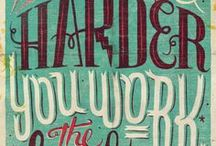 Typography / by Rob Yeo