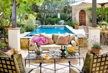 Outside decor  / by Mrs. Champagne