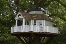 DREAM HOMES-TREE HOUSES / by Donna Lucas