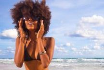 Summer Curly Hair Guide / by NaturallyCurly.com