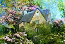 DREAM HOMES COTTAGES / by Donna Lucas
