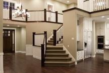 STAIRCASE, FOYERS & HALLWAYS  / by Donna Lucas