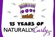 NaturallyCurly.com's 15th Anniversary / NaturallyCurly.com is celebrating 15th years and throwing one awesome party!  / by NaturallyCurly.com