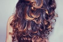☩ ombre hair ☩ / ~ombre and dip-dyed hair~ / by Katie Weber