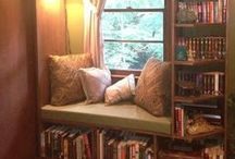 Reading & Writing Spaces / Locations around the home where you can read and/or write. / by Writer's Relief