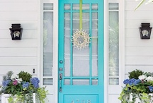 Entryways / by Michele Yates {The Homesteading Cottage}
