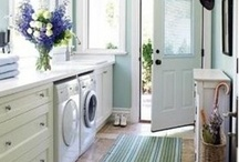 Laundry Rooms / by Michele Yates {The Homesteading Cottage}