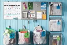 Organizing Ideas / Inspiration to get your spaces organized and clutter free!   All spam or off topic pins will be deleted.  If you'd like an invite to join the board, email me: michele{at}homesteadingcottage.com / by Michele Yates {The Homesteading Cottage}