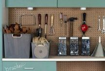 Organizing {The Garage} / by Michele Yates {The Homesteading Cottage}