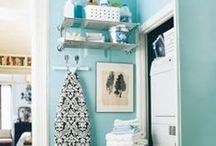 Organizing {The Laundry Room} / by Michele Yates {The Homesteading Cottage}